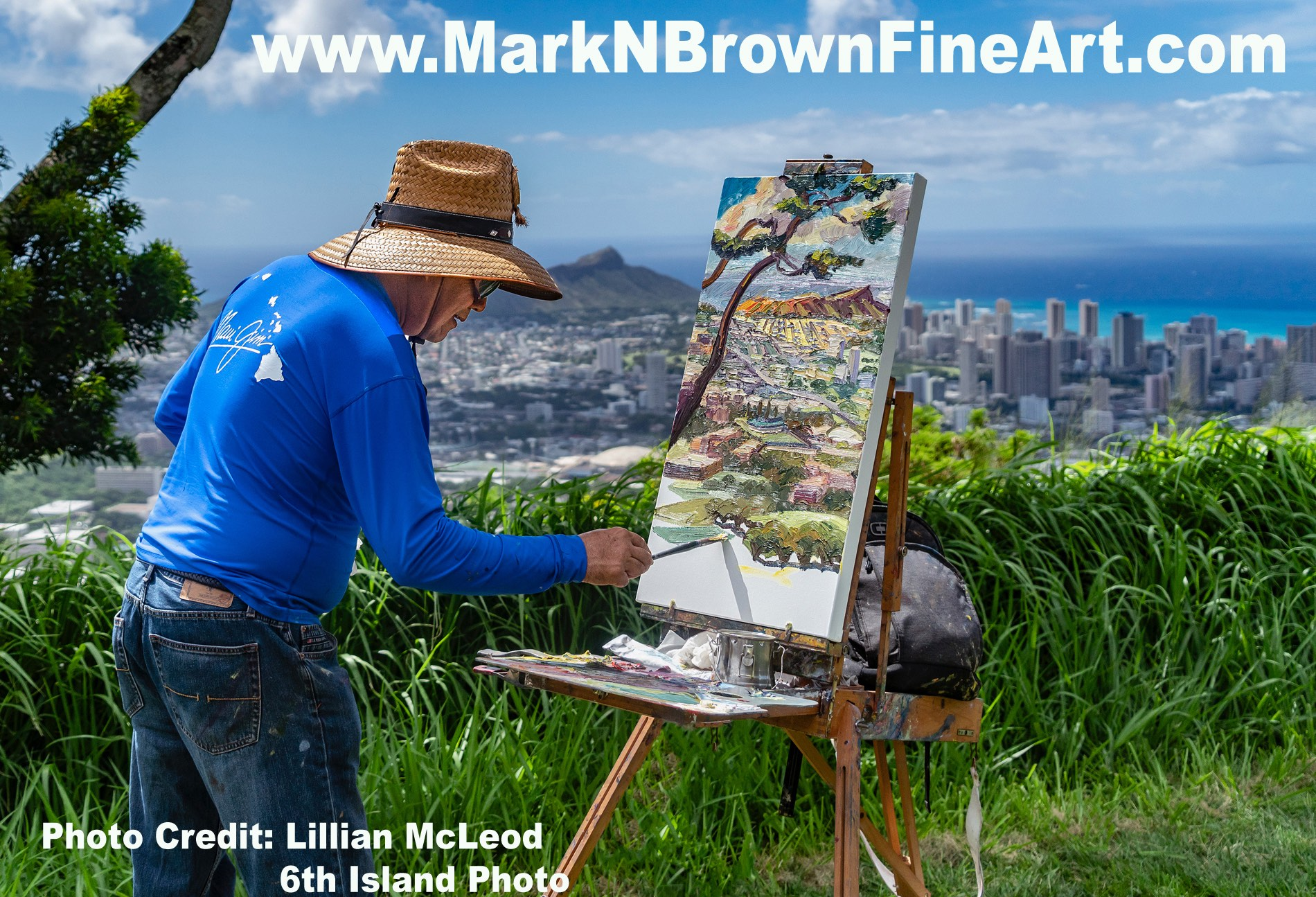 2efde709421 Hawaii Artist Mark N Brown