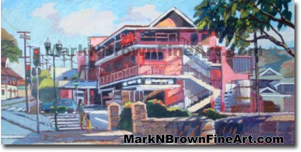 Tamashiro Market | Hawaii Art by Hawaiian Artist Mark N. Brown | Plein Air