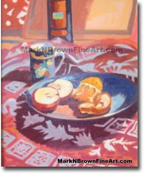 Morning Still Life   Hawaii Art by Hawaiian Artist Mark N. Brown   Plein Ai