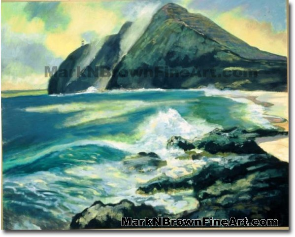 Makapu'u Sunrise | Hawaii Art by Hawaiian Artist Mark N. Brown | Plein Air