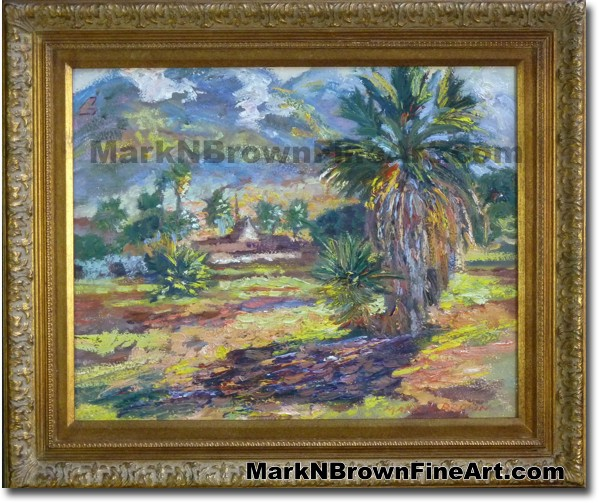 West Maui Mountains | Hawaii Art Painting by Hawaiian Artist Mark N. Brown