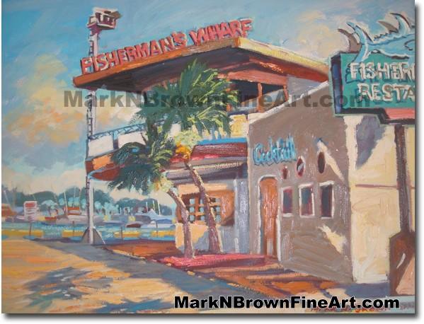 Fishermen's Wharf Glory (Fisherman's Wharf Restaurant in its Glory Days Loc