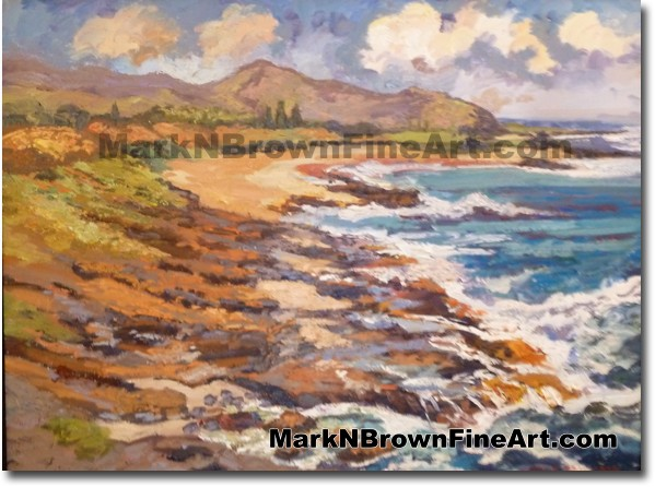 Halona - Hawaii Fine Art by Hawaii Artist Mark N. Brown