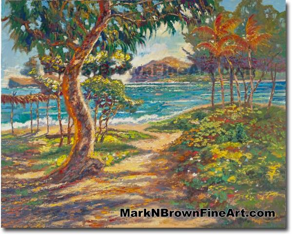 Colors Of Waimanalo - Hawaii Fine Art by Hawaii Artist Mark N. Brown
