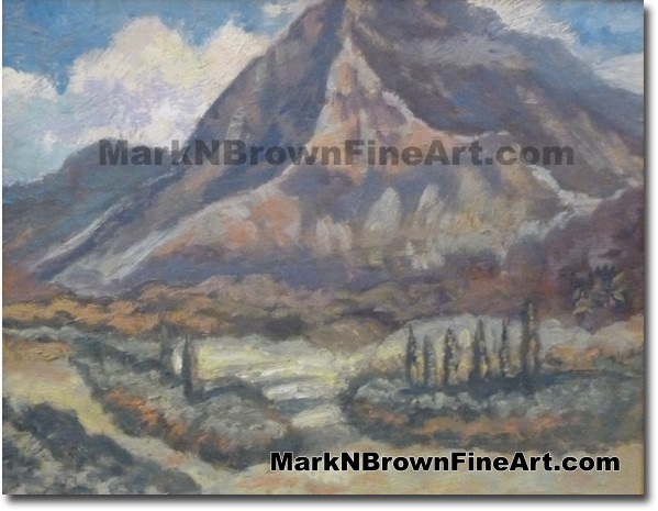 Na Pali O' Ko'olau - Hawaii Fine Art by Hawaii Artist Mark N. Brown