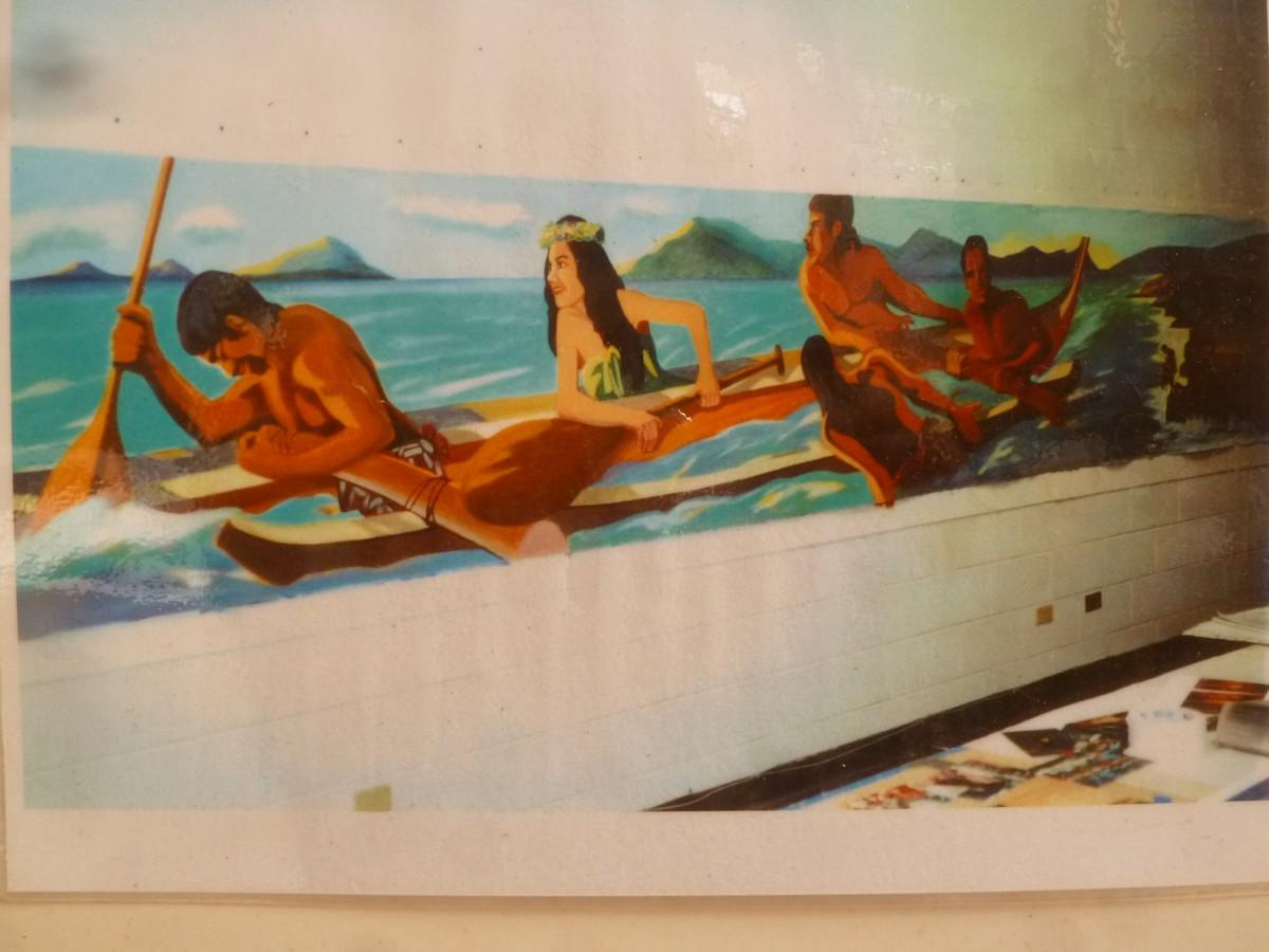 Honolulu Hawaii Wall Mural Portfolio By Hawaii Artist Mark N Brown