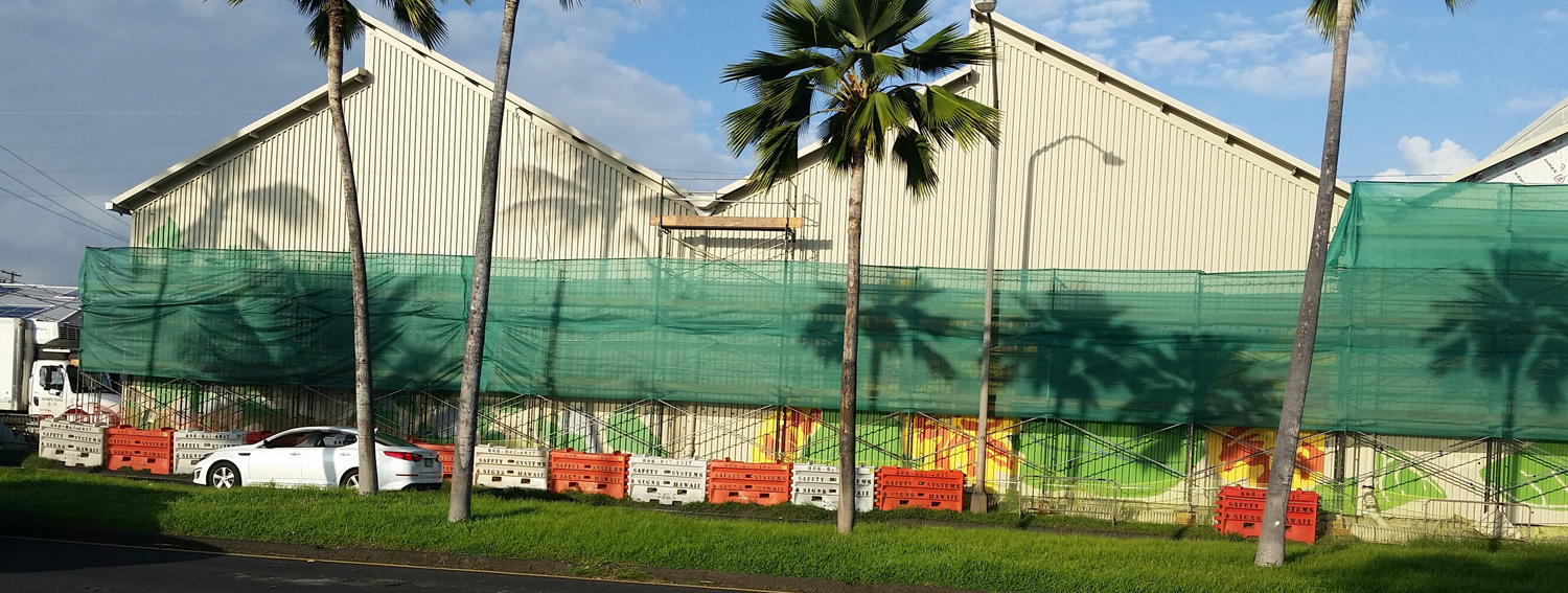 Nishimoto Trading Co Mural Project By Hawaii Artist Mark N