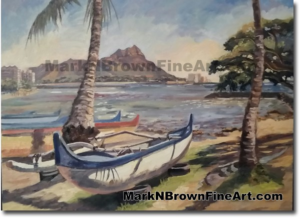 Kaiser Bowls - Jan 2016 - Hawaii Fine Art by Hawaii Artist Mark N. Brown