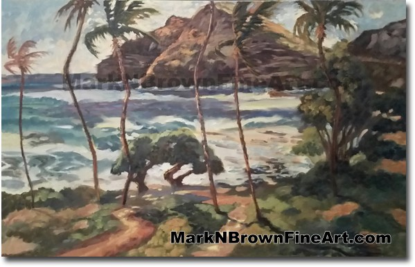 Makapu'u - Jan 2016 - Hawaii Fine Art by Hawaii Artist Mark N. Brown