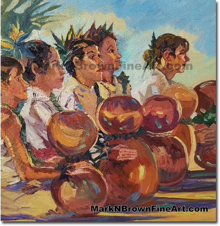 Chanters 2017 - Hawaii Fine Art by Hawaii Artist Mark N. Brown