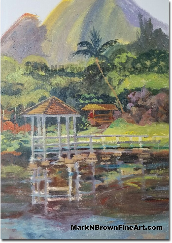 Haiku Gardens 2017 - Hawaii Fine Art by Hawaii Artist Mark N. Brown
