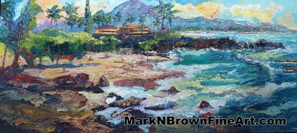 Three Tables Hawaii Fine Art By Hawaii Artist Mark N Brown January 2021