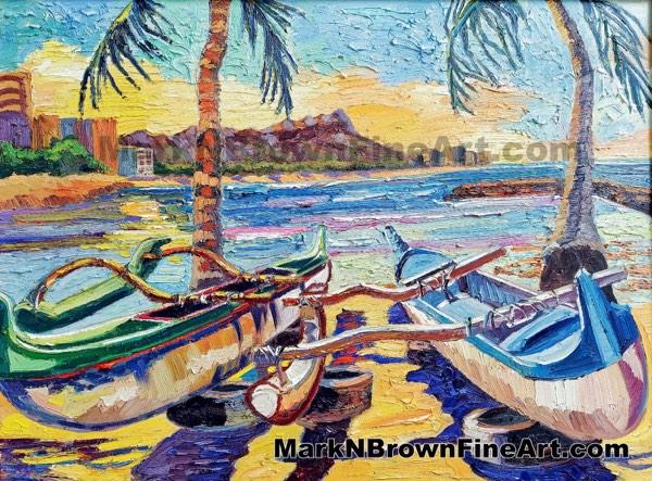 Kaiser Bowls Hawaii Fine Art By Hawaii Artist Mark N Brown January 2021