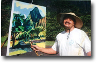Hawaii Artist Mark N. Brown - Plein Air Art