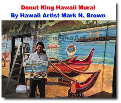 Mark brown celebrity artist