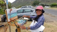 Plein Air Painting Art Class Workshop Honolulu Hawaii 2 07
