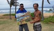 Plein Air Painting Art Class Workshop Honolulu Hawaii 2 09