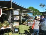Lanikai Craft Fair Hawaii Artist Mark N Brown Plein Air Fine Art 06
