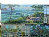 Lanikai Craft Fair Hawaii Artist Mark N Brown Plein Air Fine Art 07