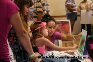 Painting session with Hawaii Artist Mark N. Brown during the MDA Summer Camp 2015