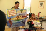 MDA Summer Camp young artist and Mark N. Brown show of their work!